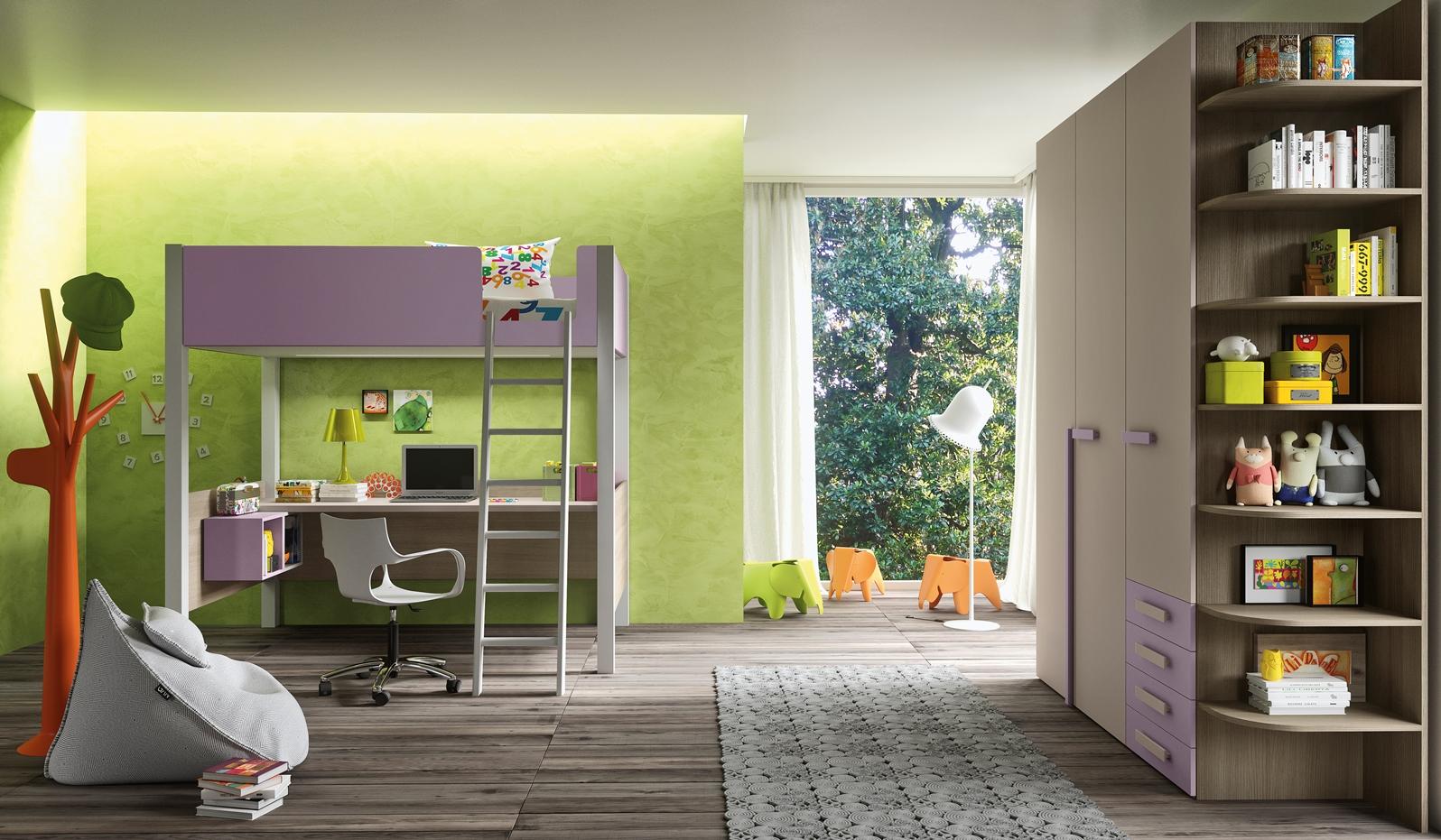 Siloma cameretta mod trend 20 riva architettura d 39 interni for Architettura d interni on line
