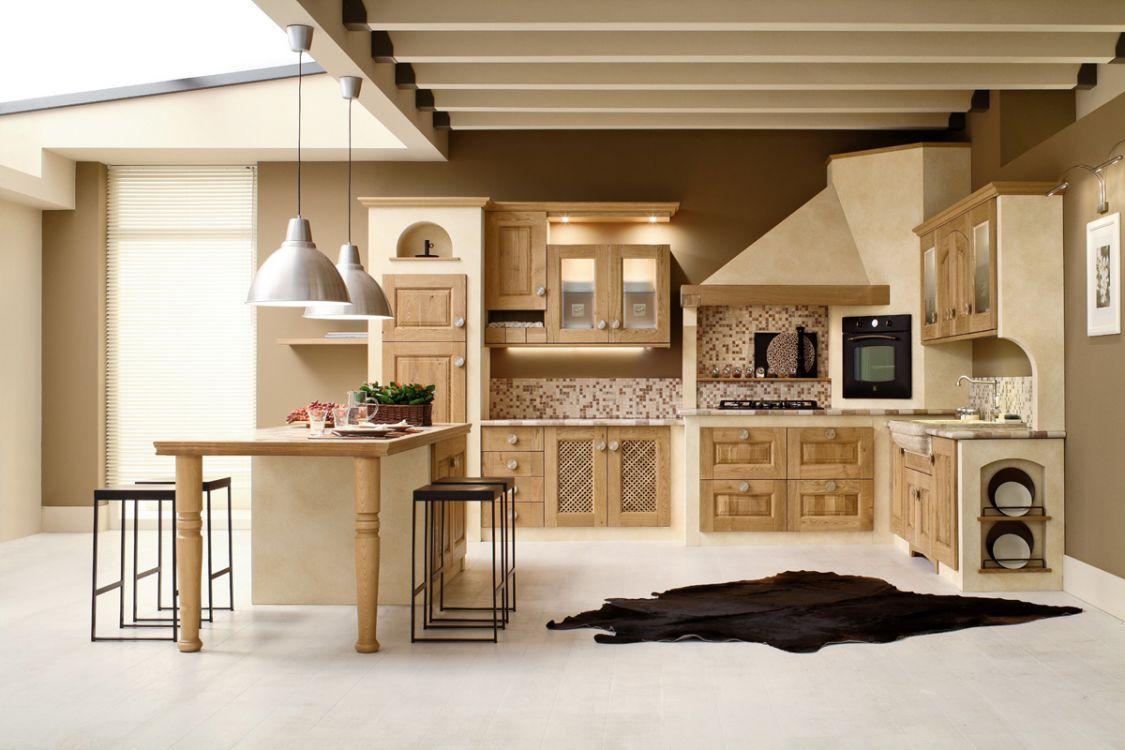 Come Decorare Una Cucina Rustica desideri una cucina in muratura? scopri i nostri modelli