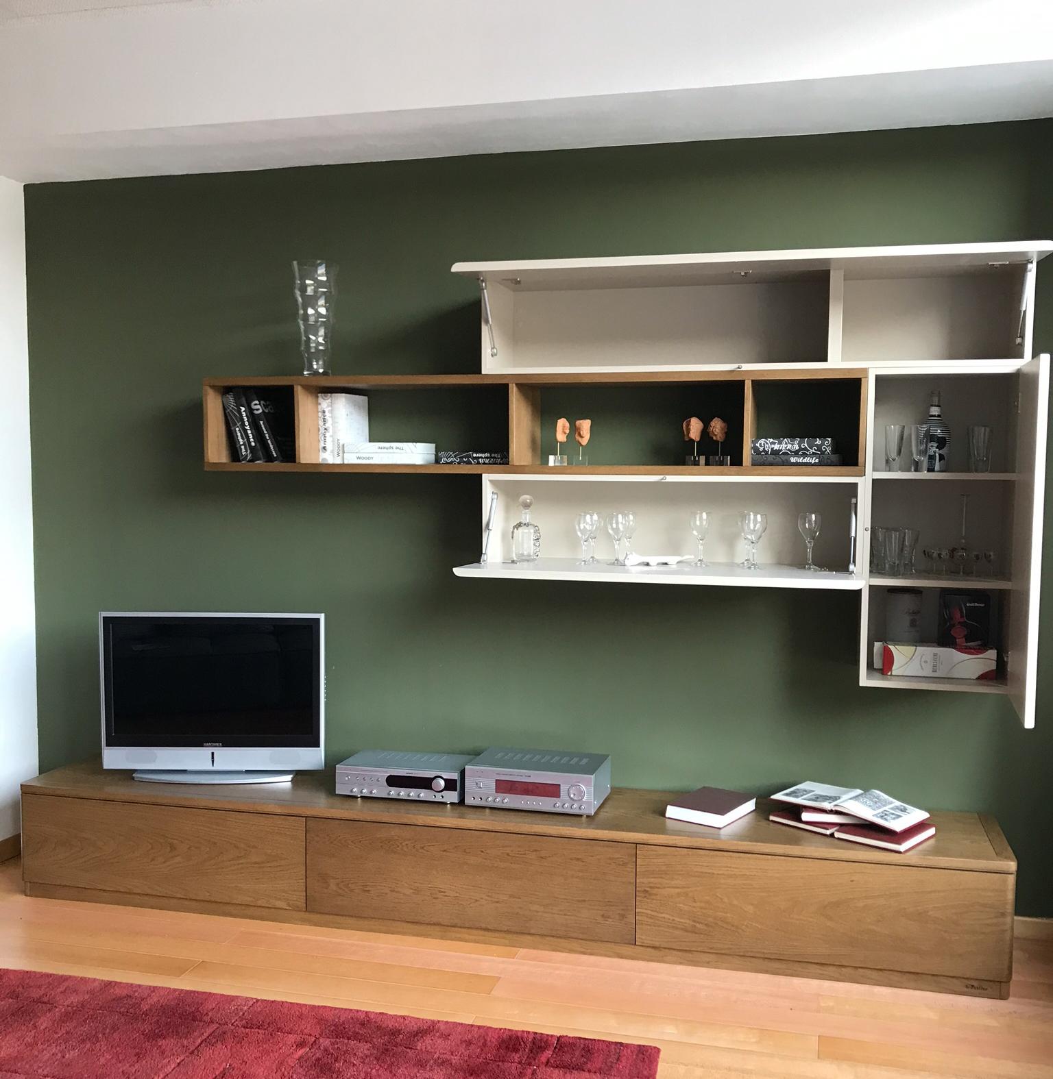 Mobile soggiorno Le Fablier - Riva - Architettura d'Interni